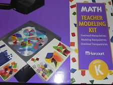 Math Kindergarten Grade K Teacher Modeling Kit Manipulatives Harcourt School