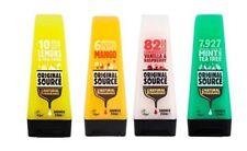 Original Source Shower GEL Set 4 X 250 Ml Exotic Fragrances Mango Lemon & Tea &