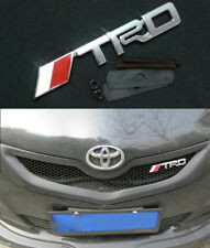 Metal Chrome TRD Grill Emblem Front Badge Grilles For Japan Car Tuning