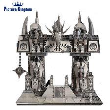PictureKingdom 3D Metal Puzzle WOW The Dark Portal Model Kits 3d Laser Cut Toy