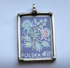 Vintage Sterling Silver Stamp Polska Charm Pedant