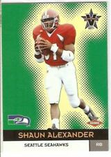 SHAUN ALEXANDER ROOKIE 2000 VANGUARD 149 SERIAL #/762 SEATTLE SEAHAWKS ALABAMA