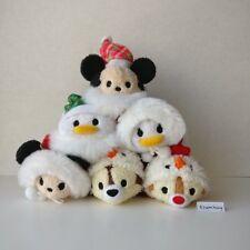 New Japan Disney Store Christmas Wreath Mickey Donald Chip Dale Tsum Tsum 2015