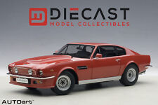 AUTOART 70222 ASTON MARTIN V8 VANTAGE 1985, SUFFOLK RED 1:18TH SCALE
