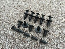 HONDA RIVETTO IN PLASTICA NERA TIPO PUSH Trim PARAURTI Pannello Clip 10pcs