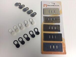 20-Pack Hose Verlängerungen - 15 Knöpfe (3 Farbe) & 5 Haken (5 Farbe, Baumwolle)