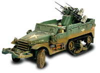 Forces of Valor - U.S. M16 MULTIPLE GUN MOTOR CARRIAGE Normandy, 1944 1:32 81303