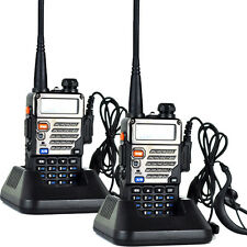 2Xbaofeng Uv-5Re Plus Dual-Dand Vhf/Uhf 400-520Mhz Two-way Radio Walkie Talkie P