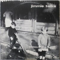 JIMMIE TALKS s/t LP Rock w/Press Bio, Photo, Concert Flyer and Insert—Roundhouse