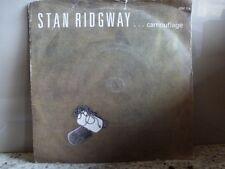 "Stan Ridgway ""Camouflage / Rio Greyhound"" 7""45rpm Vinyl Record"