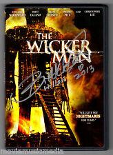 THE WICKER MAN (1973 film starring Christopher Lee) DVD signed by BRITT EKLAND