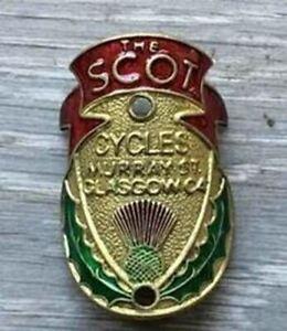 The Scot Metal Headbadge