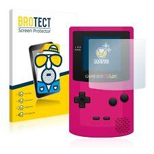 2x Displayschutzfolie Matt Nintendo Gameboy Color Schutzfolie Displayfolie Folie