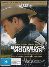 BROKEBACK MOUNTAIN - HEATH LEDGER - NEW & SEALED REGION 4 DVD FREE LOCAL POST