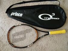 """Grip Size:4 ¼ Used Prince O3 Hybrid26 Racket Head:100 Sq.In,Length 26"""",with Case"""