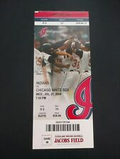 Grady Sizemore Cleveland Indians MLB Debut Ticket 7/21/2004 vs Chicago White Sox
