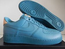 NIKE AIR FORCE 1 07 LV8 SMOKEY BLUE-SMOKEY BLUE SZ 15 RARE! [718152-017]