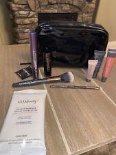 Ulta Beauty Makeup Gift Kit 9 Pc Set Lipstick, Gloss, 2 Brushes, Primer, & Wipes