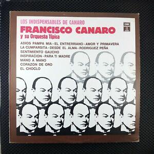 Francisco Canaro Y Su Orquesta Típica – Los Indispensables De Canaro (EMI 1833)