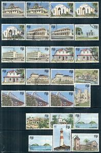 FIJI 409-24 SG580-95 Used 1979-94 Architecture Defin short set of 26 Cat$34