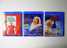 Tim Allen Disney THE SANTA CLAUSE Trilogy Three 3 Christmas Movies on Blu-ray