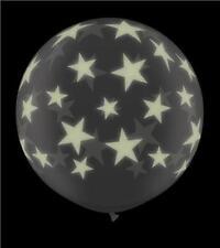 Ballons de fête noirs etoile pour la maison