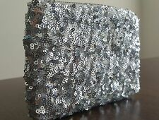 NWOT Betsey Johnson Sequins Wallet Small Clutch MSRP $95