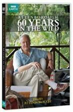 Attenborough - 60 Years In The Wild (DVD, 2012, 2-Disc Set)  BBC EARTH.