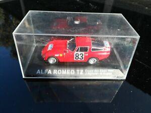 ALFA ROMEO TZ COUPE DES ALPES 1964 J.ROLLAND-G.AUGIAS