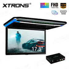 "17.3 ""FHD Digital TFT Car Roof Mounted Monitor HDMI Flip Down Video+ TV Receiver"