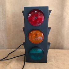 "17"" Hanging Traffic Stop Light Bar Lamp Three sided railroad night plastic"