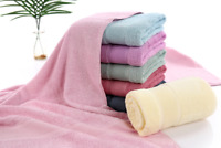 Men Soft Bath Towel 2019 Bamboo Fiber Anti Bacterial Use Solid Rectangle Towels