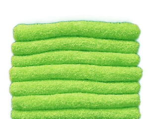 Lime Green Hand, Face, Foot Towel 100% Cotton Super Soft (45x80 cm)