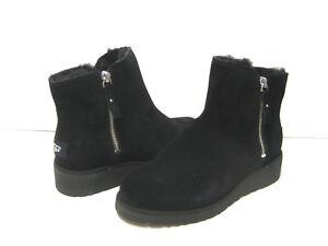 UGG SHALA WOMEN ANKEL BOOTS SUEDE BLACK  US 6 /UK 4.5 /EU 37 /JP 23