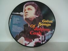 Johnny Cash - Great Songs of Johnny Cash ( Picture Disc - Denmark Lp )