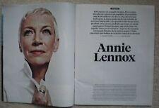 Annie Lennox - EL PAIS Semanal magazine – 14 October 2014