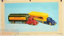 Öl-Bild Leinwand 2 x Alter Koffer-SZ 520 Illustration von WIKING-Modellen 42x79