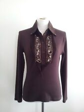 Individual Style! Didier Parakian size 42 chocolate top in excellent condition
