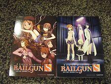 A Certain Scientific Railgun S - Complete Second Season (DVD Vols. 1 & 2) NEW!