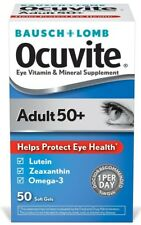 Ocuvite Eye Vitamins Adult 50 Plus for Macular Degeneration 50 Count