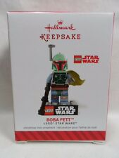 2014 HALLMARK Keepsake Ornament Boba Fett Lego Star Wars Loc B38