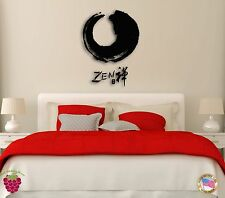 Wall Sticker Zen  Eastern Culture Modern Decor for Bedroom  z1272