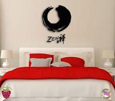 Wall Sticker Zen  Eastern Culture Modern Decor for Bedroom  z1272