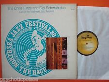 Chris Hinze And Sigi Schwab Duo  Live At The 5th Northsea Jazz Festival 1980 LP