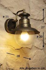 Applique extérieure Style Campagne Lampe murale Lanterne de jardin Métal 58821