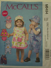 9388cb5df McCall Uncut Infant Sewing Patterns