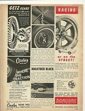 1967 American Racing Wheels Vintage Ad Mustang Fastback