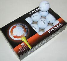 15 Titleist Velocity golf balls grade AAAAA Best 5A used balls