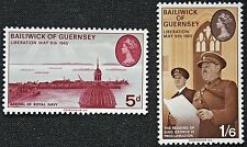 Timbres GUERNESEY - Stamp GUERNSEY - Yvert et Tellier n°24 et 25 n** (cyn2)