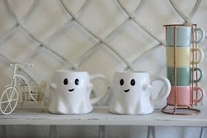 10oz Stoneware Ghost Mug 👻☕ - Threshold NEW from Target! Fast shipping!